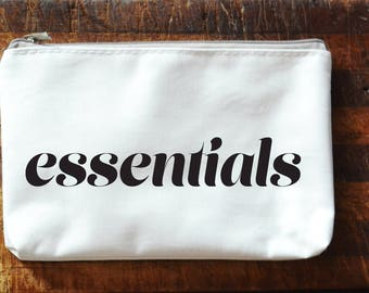 Make Up / Cosmetic Bag - ESSENTIALS