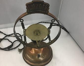 Copper Suspension Microphone