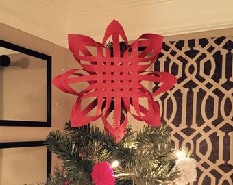 Paper Christmas Tree Topper