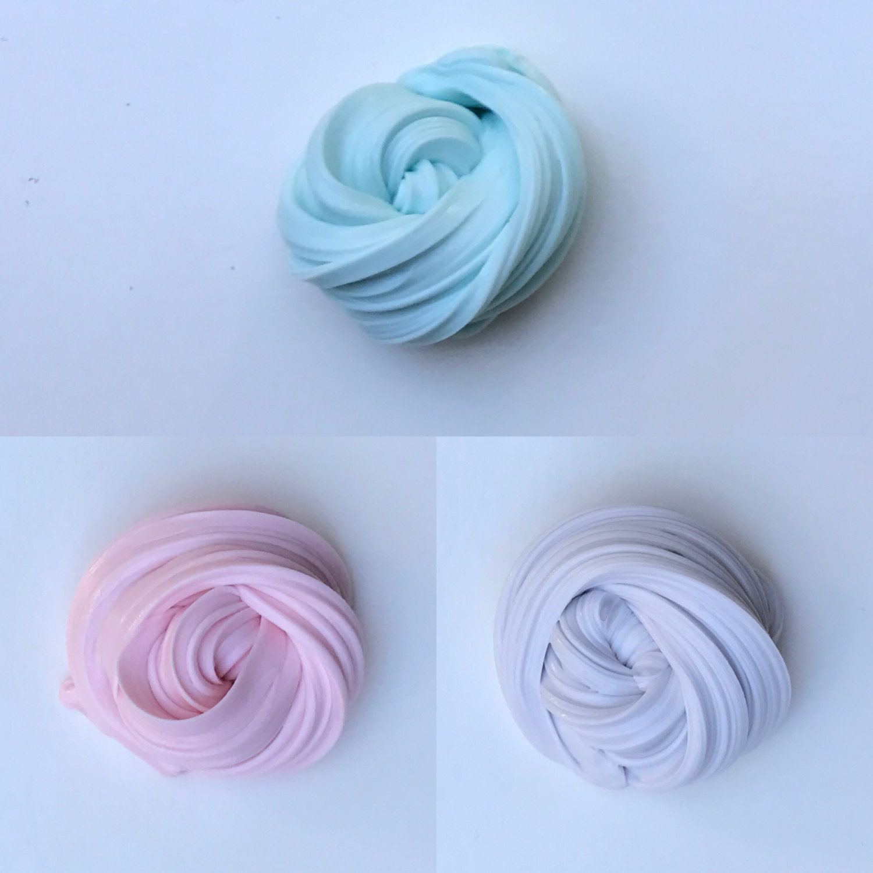 Cotton Candy Fluffy Slime Bundle