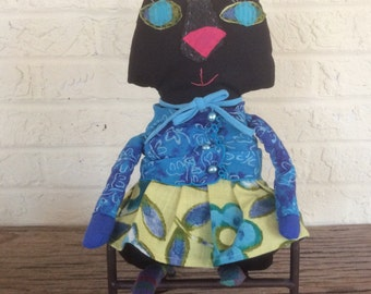 Hand made Sophie the  Cat