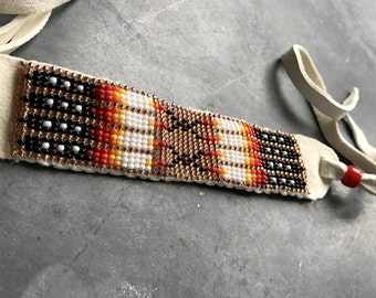Lakota Beaded Bracelet/Choker