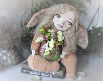 "Teddy doll ""Carrot rabbit"" (is limited collection «Fairytale escaper)"