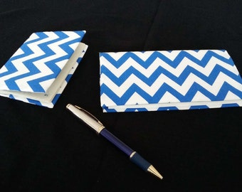 Together door checkbook and protects passport, door checkbook case checkbook cover of passport in fabrics, cotton white and blue