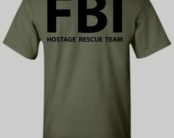 FBI Hostage Rescue Team shirt, FBI shirt, Hostage Rescue shirt, hoodie, long sleeve shirt, tshirt