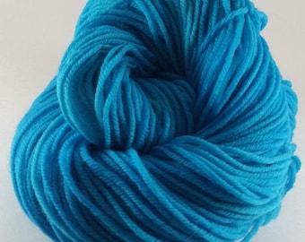 Waters Of Atlantis - 100% Superwash Merino Wool SW Hand Dyed Worsted Weight Yarn