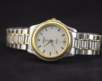 Tisson watch, Tisson 1853 watch, Tissot PR50, quartz watch, vintage watch, swiss watch, mens watch gift for him