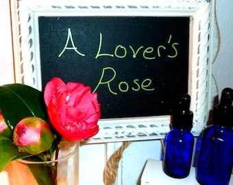A Lover's Rose--Aromatherapy Spa Essential Oil Fragrance Perfume