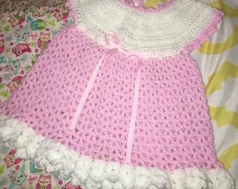 Crochet Baby Sweetie Dress