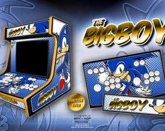 "BigBoy 2 players ""Sonic"""