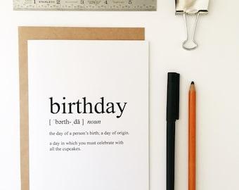 Birthday Card - Happy Birthday - Humorous Birthday Card - Humorous Card - Funny Greeting Card - Greeting Card