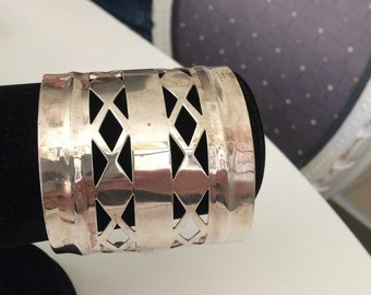 Silver plated cuff!
