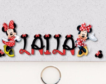 Fully Customizable Minnie Mouse Snapchat geo filter