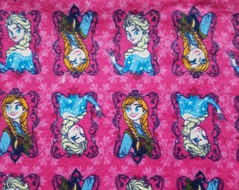 Disney Frozen Sisters Flannel Fabric