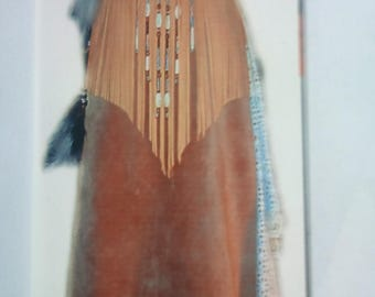 Native American and country blend dress.