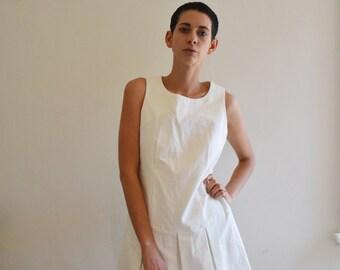 Vintage tennis pleated dress
