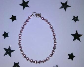 1PC Beaded Marble Bracelet
