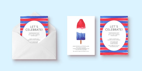 4th of July/Independence Day Invitation