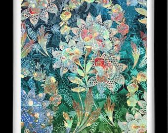 Christrose, Sufi Art by Roya Azal