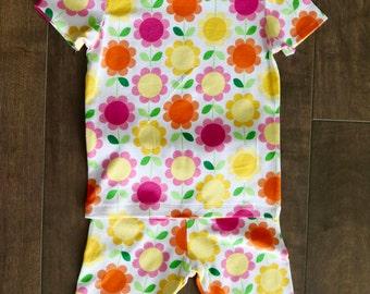 Toddler Girls Summer Pajama Set