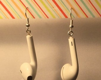 "Earphones ""Earphone"" earrings"
