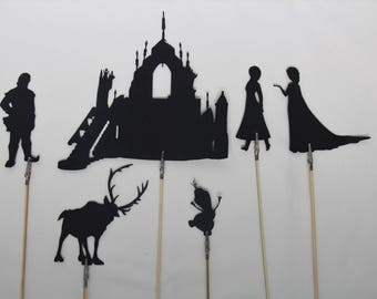 Ice Princess Shadow Puppets