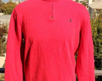 Polo Ralph Lauren Blood Red Pullover Fleece