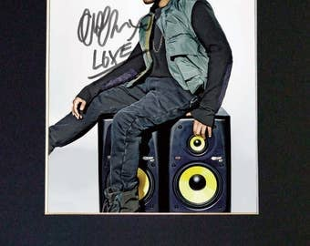 THE WEEKND Mounted Signed Photo Reproduction Autograph Print A4 636
