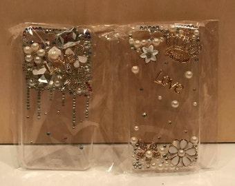 Handmade Gem Clear iPhone 7Plus Case