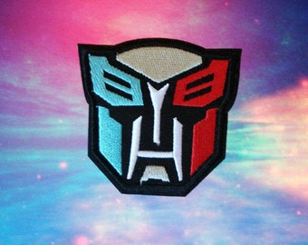 Transformers Autobot Iron On Patch