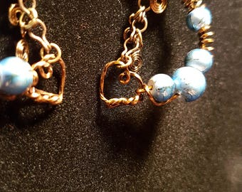 Hand Crafted Wire Wrapped Earrings