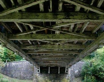 Under the Bridge - Pennsylvania - Texture - Wall Art - Home Decor - Printable - Digital Download