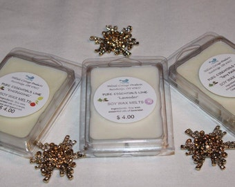 CANDLE Melts - Pure Essential Oil Soy Wax Candle Melts