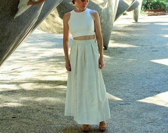 Eco two piece wedding dress 'Alexa'