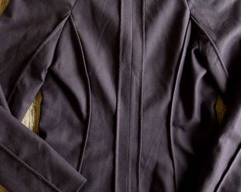 PHILOSOPHY di ALBERTA FERRETTI vintage deep brown wool jacket