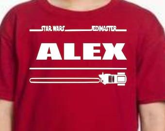 Jedi Master Light Saber Shirt