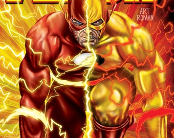 Flash and Reverse Flash 11x17