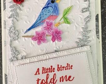 Little Birdie told me Card