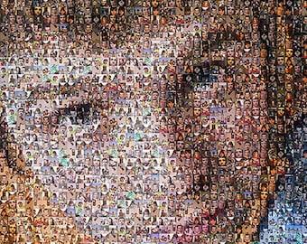 Portrait of thousands of your photos