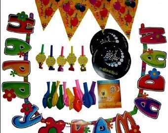 Ramadan Decoration kit Muslim Holiday Celebration Banner Fasting