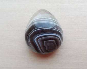 Agate Cabochon Agate Gemstone Pear Cabochon