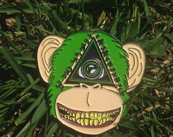 Apex Monkey Pin
