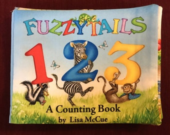 Fuzzy Tails A Counting Book Cloth Book