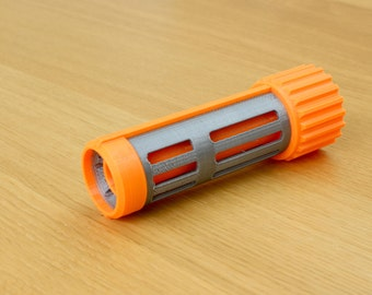 Nerf Modulus Barrel Extension - Long Slits - Custom 3D Printed|Nerf N-Strike