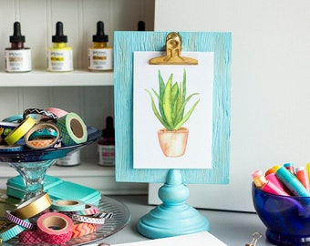 Aloe Vera - Digital Print - Watercolor 8x10 and 5x7