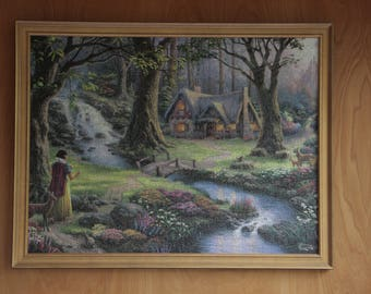 Thomas Kinkade Snow White Puzzle (Disney)