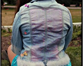 Customize denim jacket!