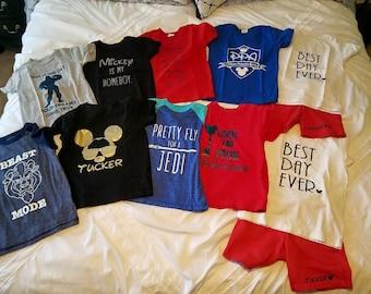Youth T-Shirt, Custom, Design, Saying, Monogram