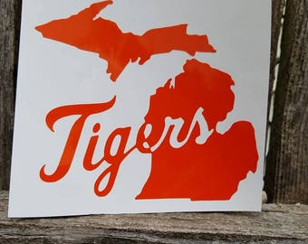Michigan Tigers Decal
