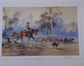 Darcy Doyle limited edition print Frosty Morn